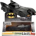 Eladó 1:32 közepes Batman - Batmobile modell autó - 1989 Batmobil fém játék autó makett guruló kerekekkel