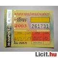 Eladó BKV 30 Napos T.-NY. Bérlet 2003 November (Gyűjteménybe) (2képpel) v2