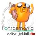 Adventure Time / Kalandra Fel 5-6cm mini figura - Jake a kutya alátehető talapzattal - Cartoon Netwo