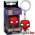 Eladó 3cmes Funko POP Marvel Pókember figura - kulcstartós Spider-Man Animated Into the Spider-Verse figur