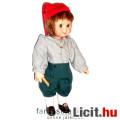 Eladó Porcelán Baba - Pásztorfiú furulyával és cipőjén kisegérrel 16cm-es baba szövet ruhában