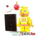 Eladó Five Nights at Freddy's FNAF figura - 4-5cmes Toy Chica csibe LEGO típ minifigura Cupcake-el és alát