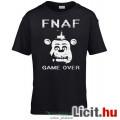 Eladó Five Nights at Freddys - új FNAF póló FNAF - GAME OVER Freddy póló fekete színben - felnőtt L méretb