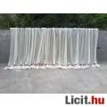 Eladó Ekrü-barna színű kész pamut függöny 160x710 cm