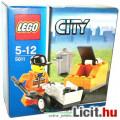 Eladó LEGO City / Város 5611 Köztisztaság munkás lapáttal, kukával és talicskával - Új, bontatlan