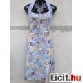Eladó # Nyak pántos rózsás fodros nyári ruha kb. 34/36-os