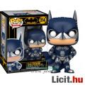 Eladó 10cmes Funko POP figura Batman 1997 80th Anniversary figura - nagyfejű Batman and Robin George Cloon