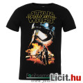 Eladó eredeti Star Wars Captain Phasma póló - felnőtt S méret - hivatalos Csillagok Háborúja fekete póló S