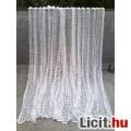 Eladó Bézs-fehér készre varrt pamut függöny 210x400 cm