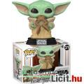 Eladó 10cmes Funko POP 379 Star Wars Baby Yoda békával / mandalorian The Child with frog -  Csillagok Hábo