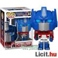 Eladó 10cmes Funko POP 22 Transformers G1 Optimus Prime / Optimusz Fővezér - nagyfejű Autobot robot karika