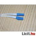 Optikai kábel 5m-es, mindkét végén 2db LC csatlakozóval