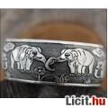 Eladó Csodaszép szerencse elefántos tibeti ezüst karkötő - Vadonatúj!