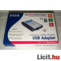 D-Link DWL-120+ USB WiFi Adapter 2.4GHz (2003) (12képpel :)