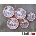 Eladó Kínai motívumos porcelán csészealj, kistányér