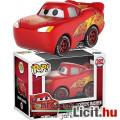 Eladó Funko POP 282 Cars / Verdák Villám McQueen autó figura - Disney Cars Linghtning McQueen karikatúra j