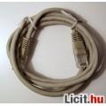 Eladó Internet Kábel (CAT5) 120cm ÚJ 2kép mindkét vége jól látszik színek is