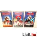Eladó 90s Régi VHS Videókazetta - Star Wars Trilógia digitálisan felújított Új Remény, Birodalom Visszavág