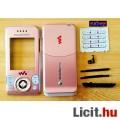 Eladó SonyEricsson W580 komplett ház, pink színben, Gyári minőség