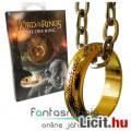 Eladó Gyűrűk Ura - aranyozott Egy Gyűrű / One Ring láncon, ablakos díszdobozzban - Hobbit / Lord of the Ri