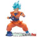 Eladó 23cm-es Dragon Ball Super / Z figura - Goku  / Songoku SSJ God kék hajjal, erőgyűjtő pózban - Banpre