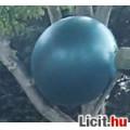 Eladó Újszerű sötétzöld gimnasztikai labda 75 cm