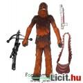 Star Wars figura - Chewbacca / Csubakka extra-mozgatható figura kétféle fegyverrel és levehető táská