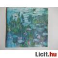 szalvéta - Monet: Tavirózsák