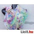 Eladó *Batikolt selyem kendő 86 x 82cm