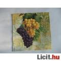 szalvéta - szőlő