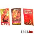 Eladó xx Használt könyv - 3db mozi Rambo 1-2, Szabad Préda / Freejack - régi regény
