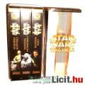 Eladó 90s Régi VHS Videókazetta - Star Wars Trilógia szélesvásznú változat Új Remény, Birodalom Visszavág,
