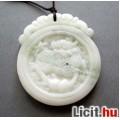 Eladó Különleges egyedi fehér jáde kylin sárkány amulett  medál