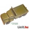 Eladó Régi / Retró Orosz Katonai Autó / Jármű - Szovjet USSR fém makett - használt, csom. nélkül
