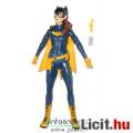 Eladó Batman figura - 16cm-es Burnside Batgirl figura extra-mozgatható végtagokkal és sárga Bataranggal -