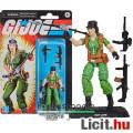 Eladó 10cm-es GI Joe / G.I. Joe Retro Collection figura - Lady Jaye női katona figura gépfegyverrel, rakét