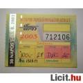 Eladó BKV 30 Napos T.-NY. Bérlet 2003 November (Gyűjteménybe) (2képpel) v1