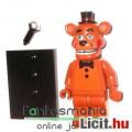 Eladó Five Nights at Freddy's FNAF figura - 4-5cmes Toy Freddy maci LEGO típ minifigura mikrofonnal és alá