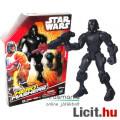 Eladó 16cmes Star Wars figura - Shadow Stormtrooper / Rohamosztagos játék figura kezébe adható pisztollyal