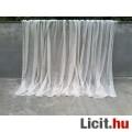 Eladó Ekrü színű készre varrt függöny 160x440 cm