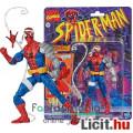 Eladó 16cm-es Marvel Legends figura Animated Spider-Man - Cyborg / Kiborg Pókember figura extra mozgatható