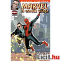 Eladó új Marvel Legendák 7 Stan Lee A Csodák Világa teljes képregény kötet, Benne: Pókember, Ezüst utazó é