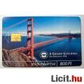 Telefonkártya 2000/11 - Golden Gate Híd (2képpel :)