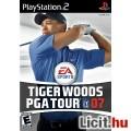 Eladó Playstation 2 játék: Tiger Woods PGA Tour 07, eredeti tokjában, füzett