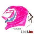 Eladó Pankráció maszk - Rey Mysterio rózsaszín-kék színben felvehető Pankrátor Maszk - Lucha / Luchardor m