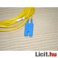 Optikai kábel 4m. mindkét végén 2db SC csatlakozó