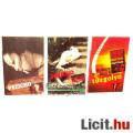 Eladó xx Használt könyv - 3db Robert Bloch Pszicho 1-2, Tűzgolyó / Firebug - régi horror regény