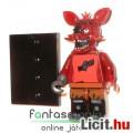 Eladó Five Nights at Freddy's FNAF figura - 4-5cmes Foxy róka LEGO típ minifigura kampókézzel és alátehető