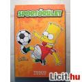 Sportőrület (Simpsons) Tesco Hűtőmágnes Album (2014) Ver.2 (20db-os)