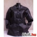 Eladó * FISHBONE Fekete műbőr kabát M-es